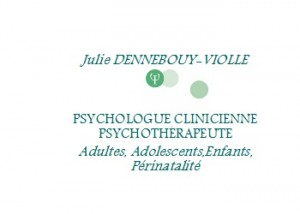 Julie Dennebouy-Violle, psychologue à Rennes. Lien page accueil